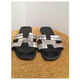 Hermès-Oran-Black,Silvery