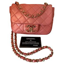 Chanel-Mini Classic-Pink