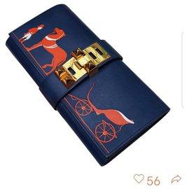 Hermès-MEDOR CLUTCH 29-Blue