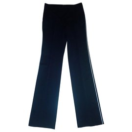 Bottega Veneta-Pantalon noir-Noir