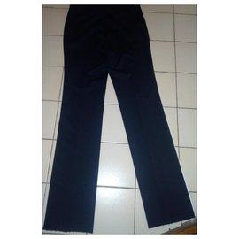 Bottega Veneta-Black pants-Black