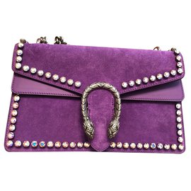 Gucci-Handbags-Purple