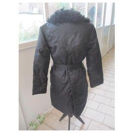 Balmain-Manteaux, Vêtements d'extérieur-Noir