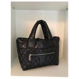 Chanel-CHANEL HANDBAG COCOON BLACK BRAND NEW-Black