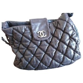 Chanel-Grand shopping-Dark grey