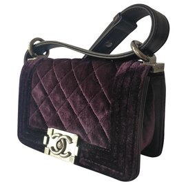 Chanel-Boy micro-Purple