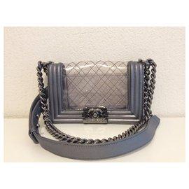 Chanel-Handbags-Grey
