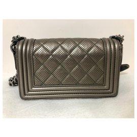 Chanel-Small Chanel Boy bag-Golden