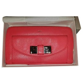 Chloé-Wallets-Pink