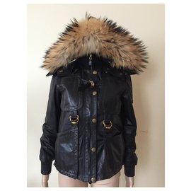 Gucci-Manteaux, Vêtements d'extérieur-Noir