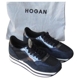 Hogan-Sneakers-Navy blue