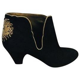 Boots fendus Patricia Blanchet