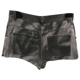 Chanel-Shorts-Black,Grey
