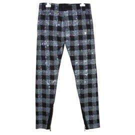 Balmain-Pants, leggings-Black
