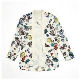 Hermès-MINERAUX FR34/38-Blanc cassé