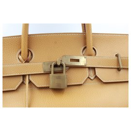 Hermès-Handbags-Brown,Golden
