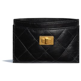 Chanel-Chanel Card Wallet new-Black