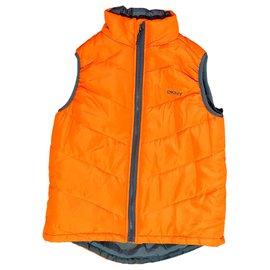 Dkny-Einteilige Jacke-Orange