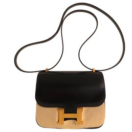 Hermès-Hermes Constance 18 Black Box-Black