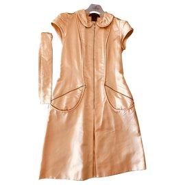 Louis Vuitton-Robes-Beige