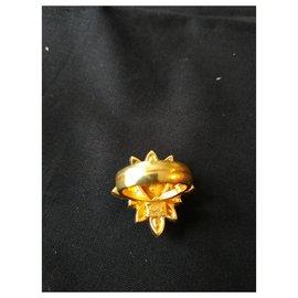 Yves Saint Laurent-Rings-Golden