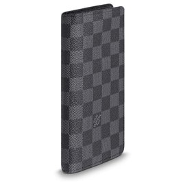 Louis Vuitton-Long wallet LV-Grey