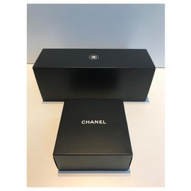 Chanel-Chanel VIP gifts . Candles + Bloc notes-Black