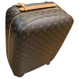 Louis Vuitton-BAGAGGE CABINE VUITTON ZEPHY 55-Marron foncé
