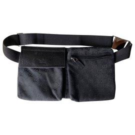 Gucci-sac de ceinture-Noir