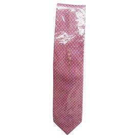 Autre Marque-tie Zilli new condition-Pink