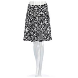 Cynthia Rowley-Skirts-Black,White