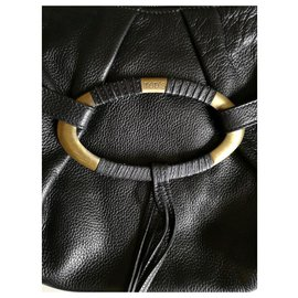 Tod's-Handbags-Black