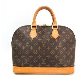 Louis Vuitton-Louis Vuitton Brown Monogram Alma PM-Brown