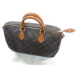 Louis Vuitton-Speedy 35 Monogram-Brown