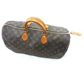 Louis Vuitton-Speedy 40 Monogram-Brown