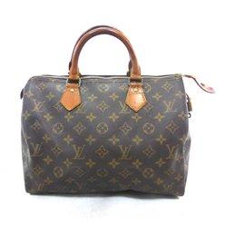 Louis Vuitton-Speedy 30 Monogram-Brown