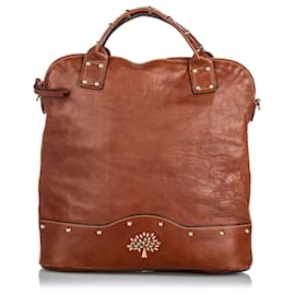 Mulberry-Mulberry Red Leather Satchel-Red,Dark red