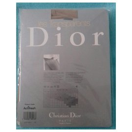 Christian Dior-Bas - collants Jartière colombine nuage-Chair