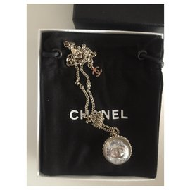 Chanel-Pendant necklaces-Silvery