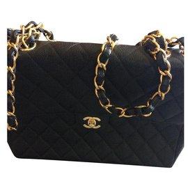 Chanel-Jumbo model 30cm-Black