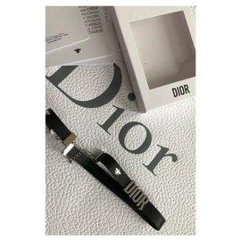 Dior-Bracelets-Noir,Argenté