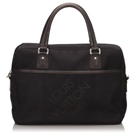 Louis Vuitton-Louis Vuitton Black Damier Geant Yack-Black
