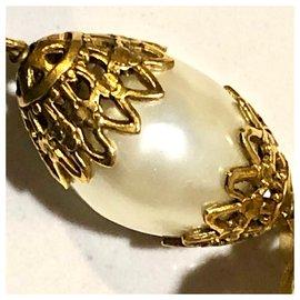 Chanel-vintage-Beige,Golden