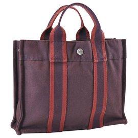 Hermès-Hermès cabas-Violet