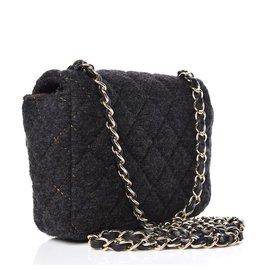 Chanel-Square Crossbody-Black