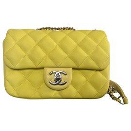 Chanel-Sacs à main-Jaune