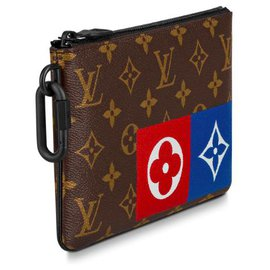 Louis Vuitton-Louis Vuitton clutch new-Brown