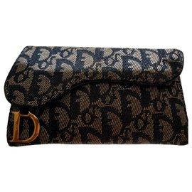 Christian Dior-Wallet-Blue