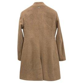 Dondup-Camel short coat-Beige
