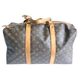 Louis Vuitton-Keepall 45 sac souple-Marron